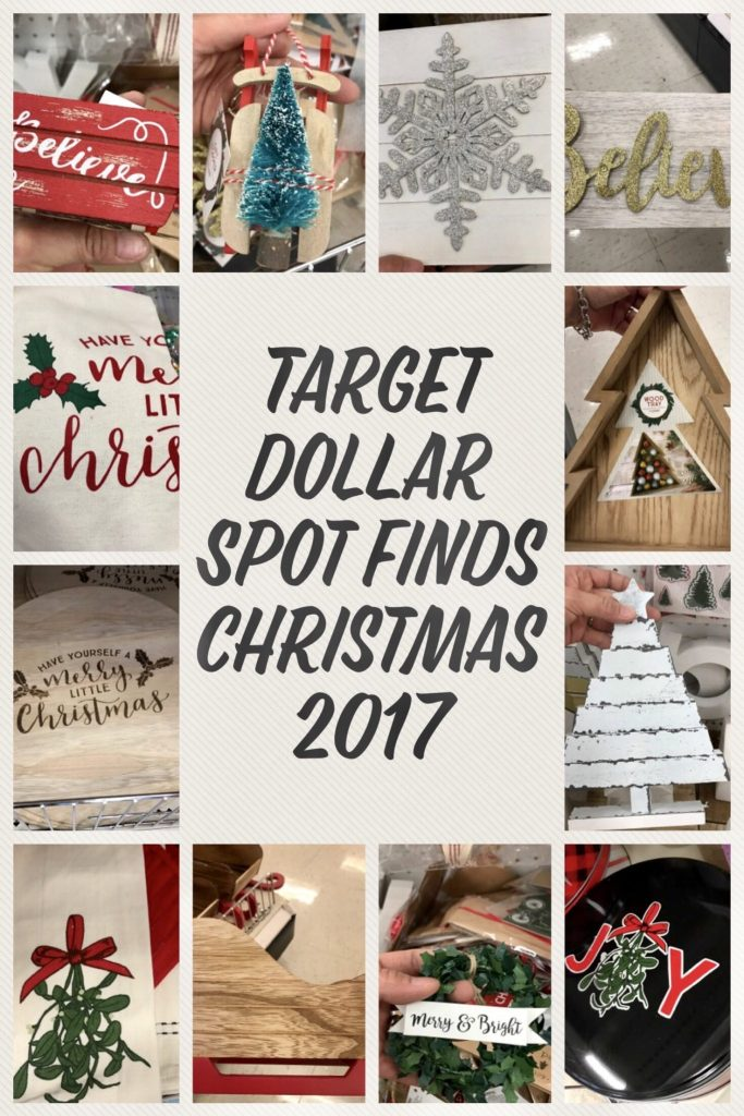 target dollar spot finds for christmas 2017