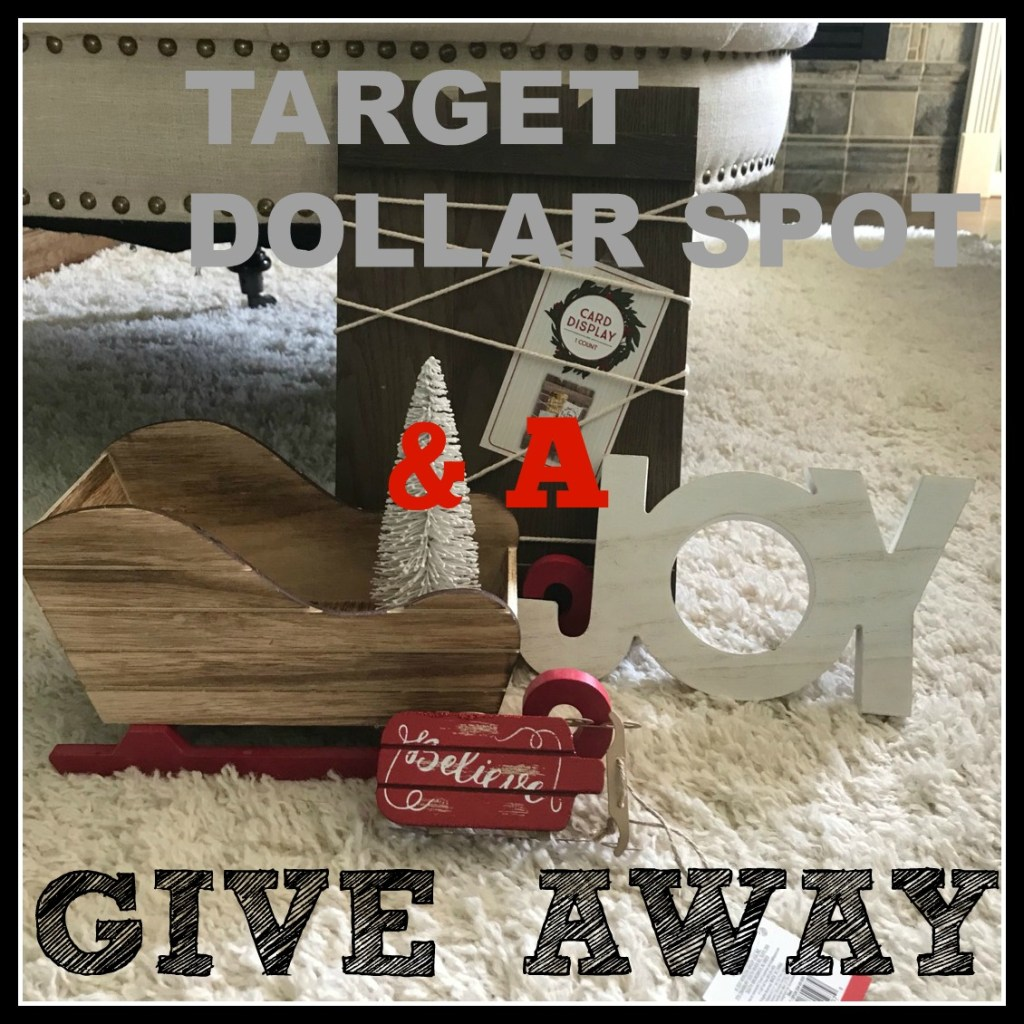 Target Dollar Spot Christmas Haul & A Giveaway - Frugally Fantastic