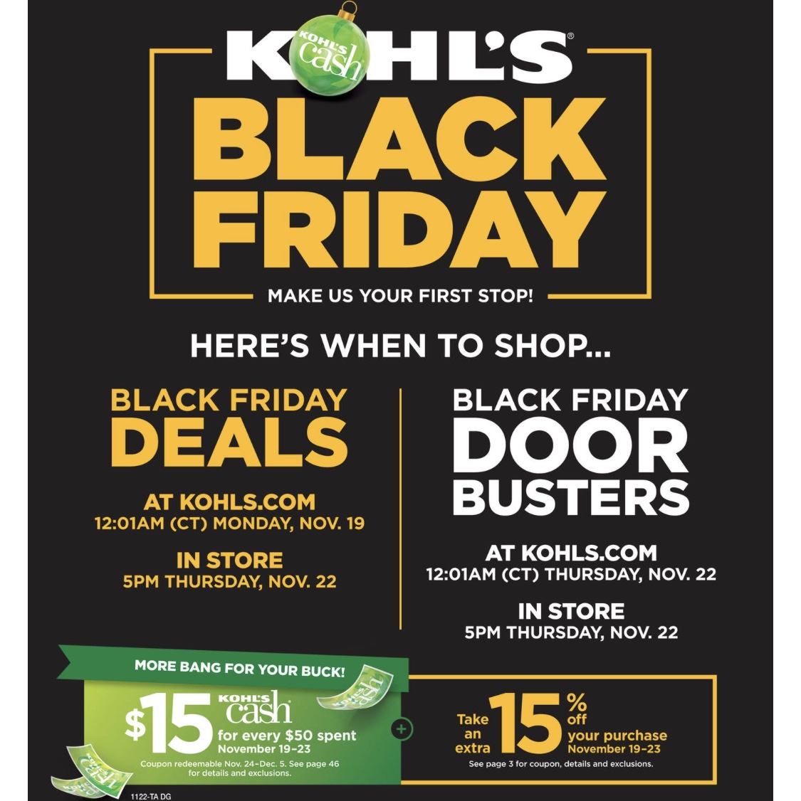 6bf58c039c6 Kohl s Black Friday Prices Today Only - Frugally Fantastic