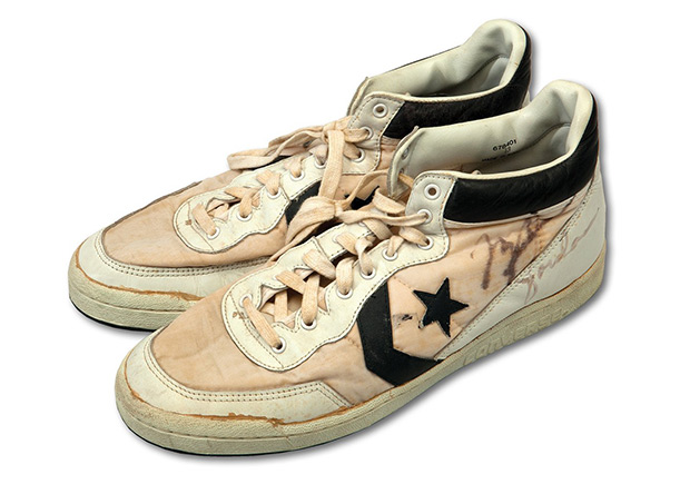 Michael Jordan's Game-Worn Converse Fastbreaks
