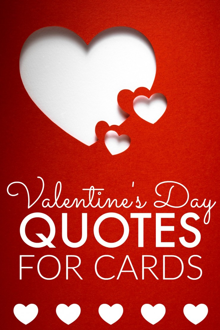 Valentines Day Quotes For Cards Frugal Mom Eh