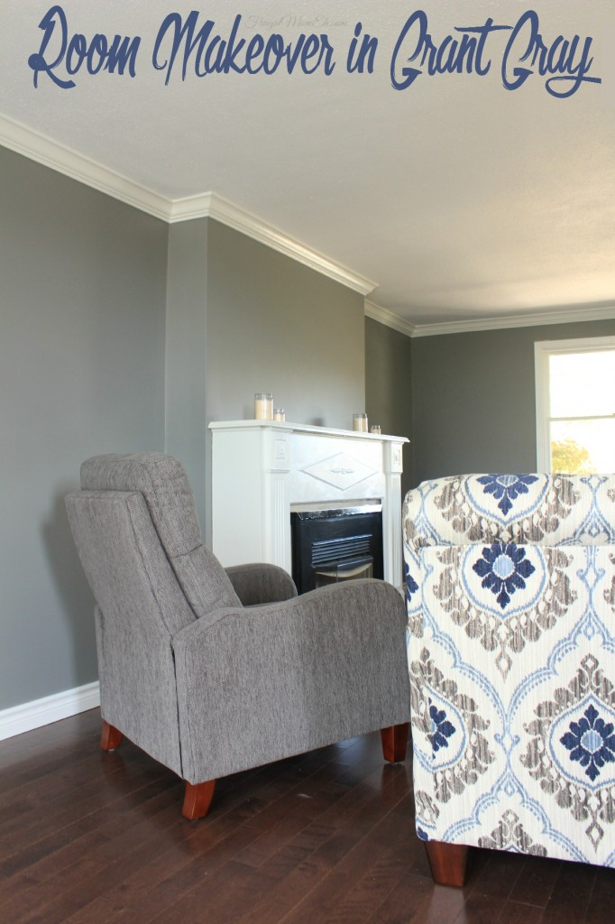 Room Makeover In Grant Gray By Behr Frugal Mom Eh