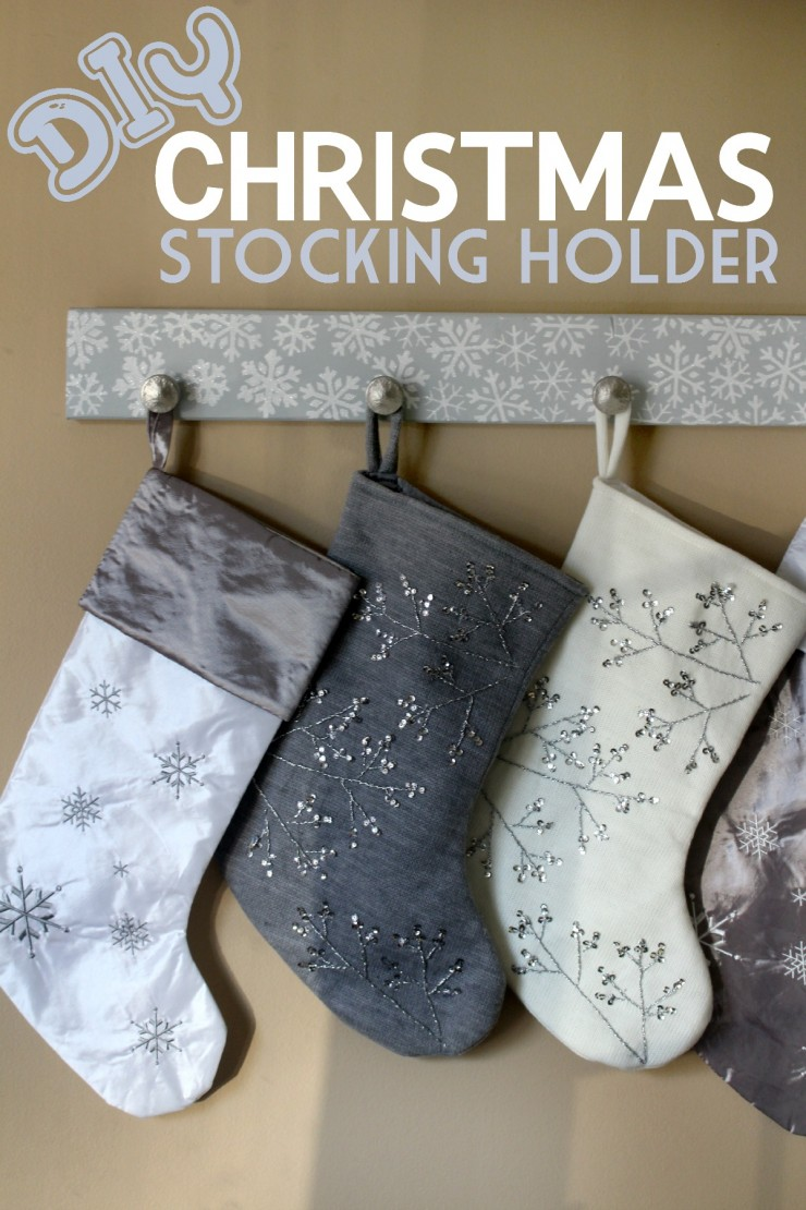 DIY Christmas Stocking Holder Frugal Mom Eh