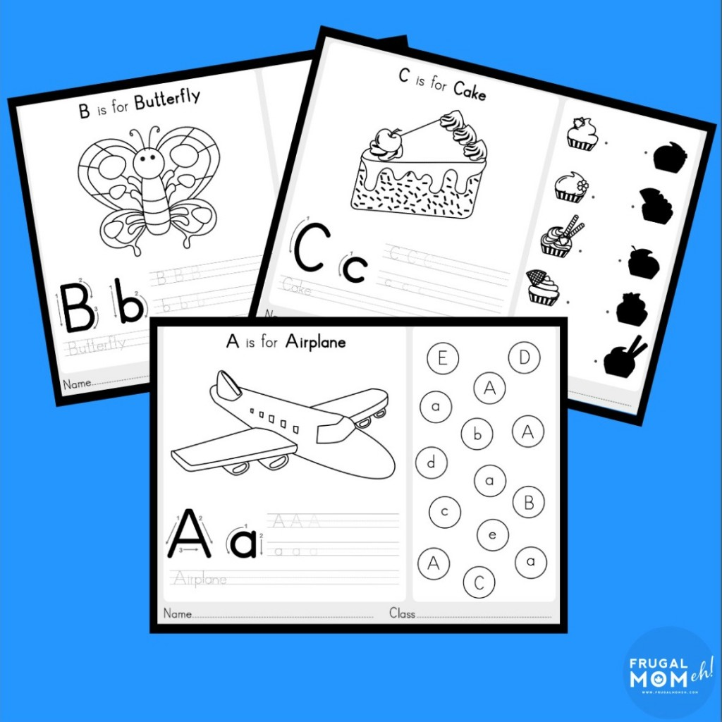 Free Handwriting Practice Worksheets With Fun Activities