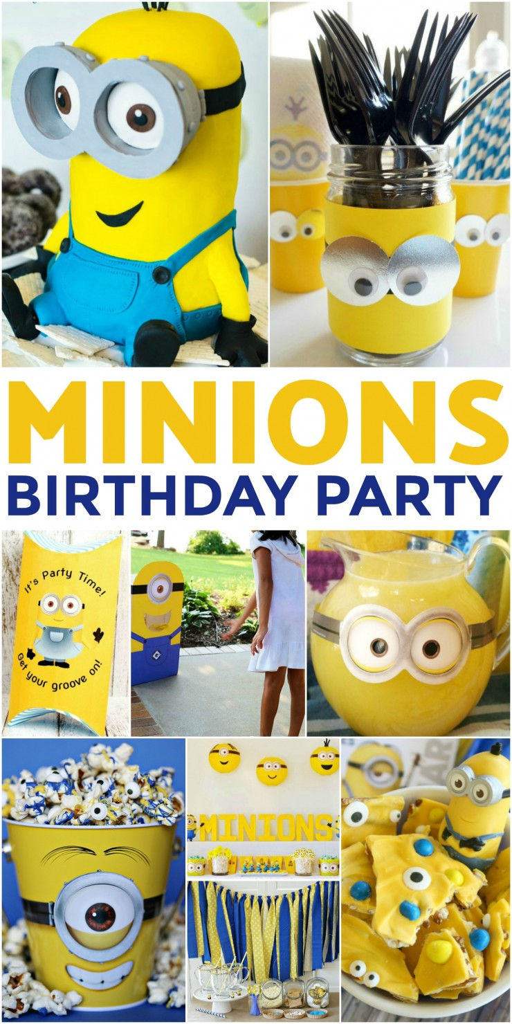 How To Throw The Ultimate Minions Birthday Party Frugal Mom Eh