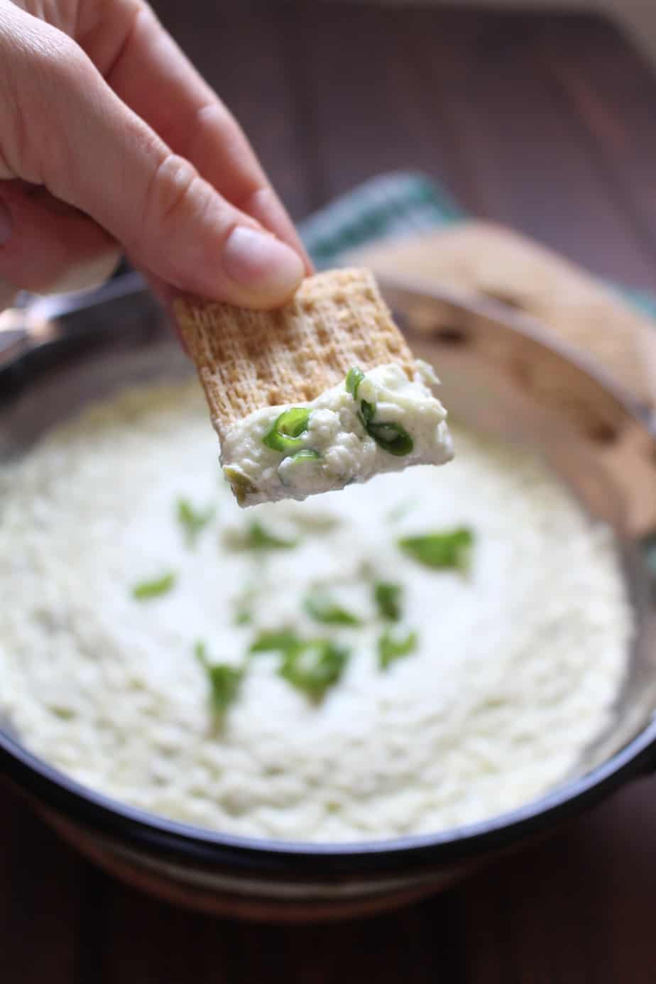 Jalape 241 O Cream Cheese Dip Frugal Nutrition