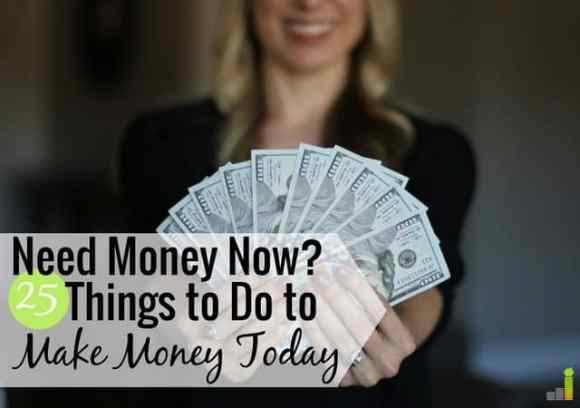 I Need Money Now: 25 Legit Ways to Get Money Today - Frugal Rules