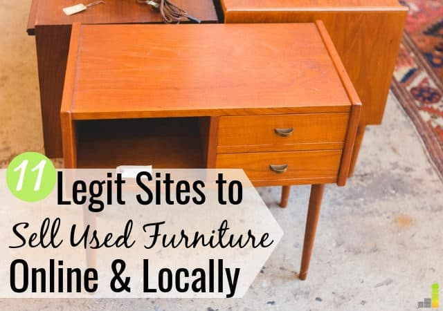 to sell used furniture online