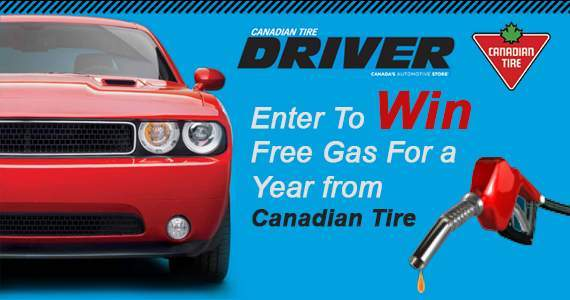 Canadian Contests ~ Win Free Gas For a Year from Canadian