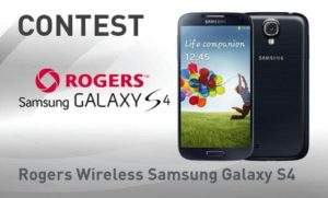 rogers galaxy s4 contest image