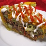 Recipe ~ Tacoe Pie!