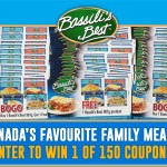 Contest ~ Enter to Win 1 of 150  Bassili's Best 907g Product Coupons!