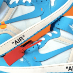 Contest ~ Win a pair of UNC Off-White Air Jordan 1 sneakers!