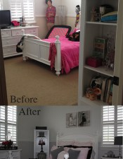 Teen Bedroom Makeover – with discounted decor & diy projects