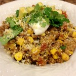 Mexican Style Quinoa~Healthy Meal or Side Dish