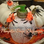 Halloween Pumpkin Soap Dispenser