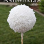 Best Faux (Fake) Snowballs