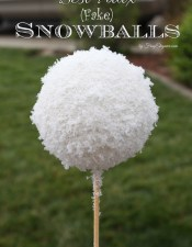 Best Faux (Fake) Snowballs
