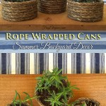 Twisted Rope Wrapped Cans