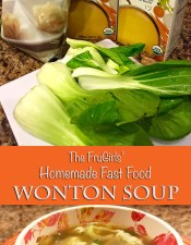 Homemade Fast Food Wonton Soup
