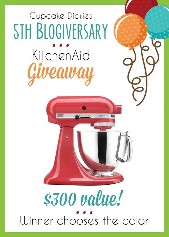 KitchenAid Giveaway Celebration - FrugElegance
