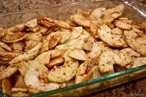 Easy Apple Crisp | FrugElegance | www.frugelegance.com
