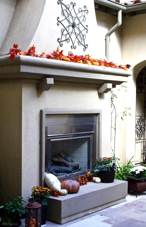 Easy Fall Home Decor | FrugElegance | www.frugelegance.com