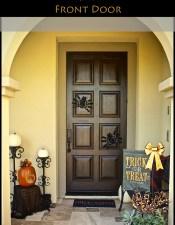 Easy Halloween Front Door Decor