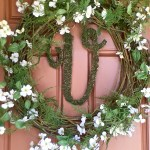 Fern & Dogwood Spring Wreath