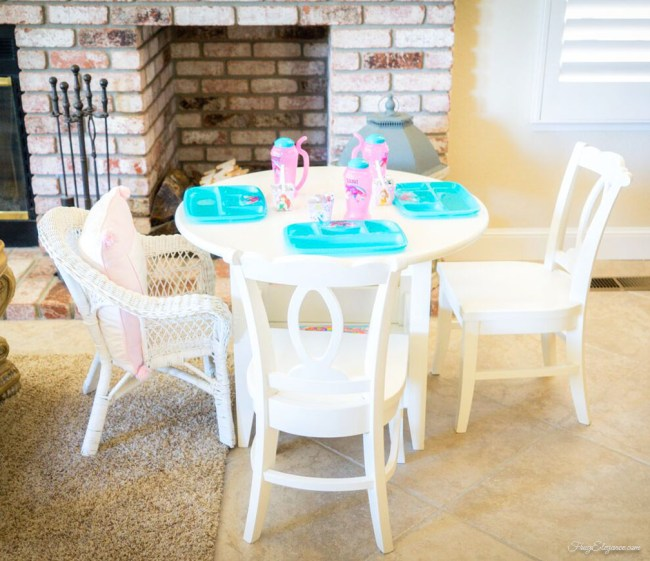 Baptism Family Celebration on a Budget | FrugElegance.com