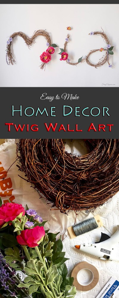 Easy Home Decor Wall Art | www.FrugElegance.com
