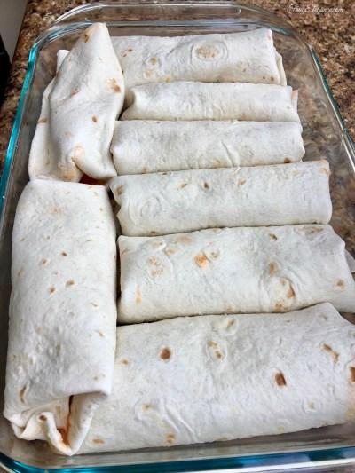 Chicken Burrito Bake by FrugElegance.com