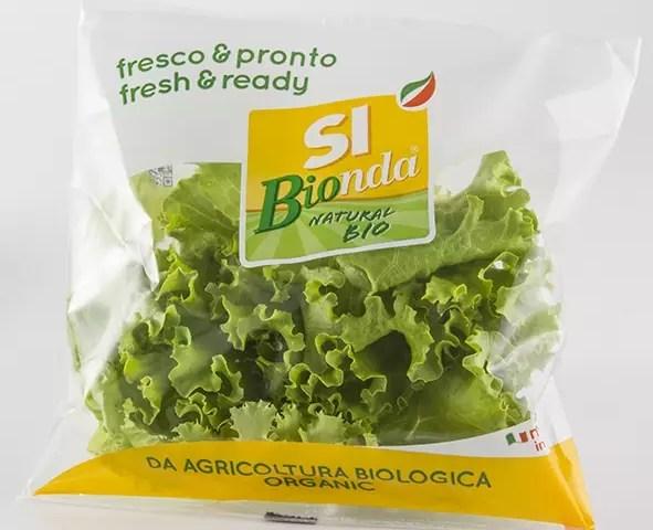 SI Bionda - insalata bio IV gamma