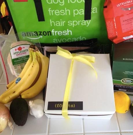 Un esempio di spesa effettuata tramite Amazon Fresh