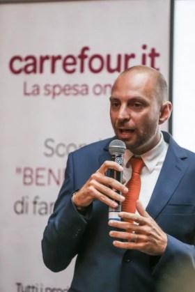 Enrico Fantini, responsabile e-commerce Carrefour Italia.