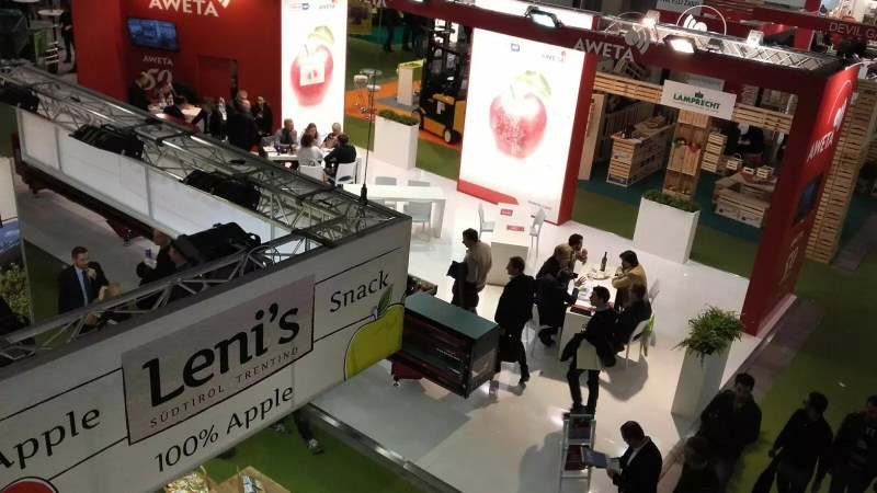 Lo stand Leni's (Vog Products) a Interpoma 2016.