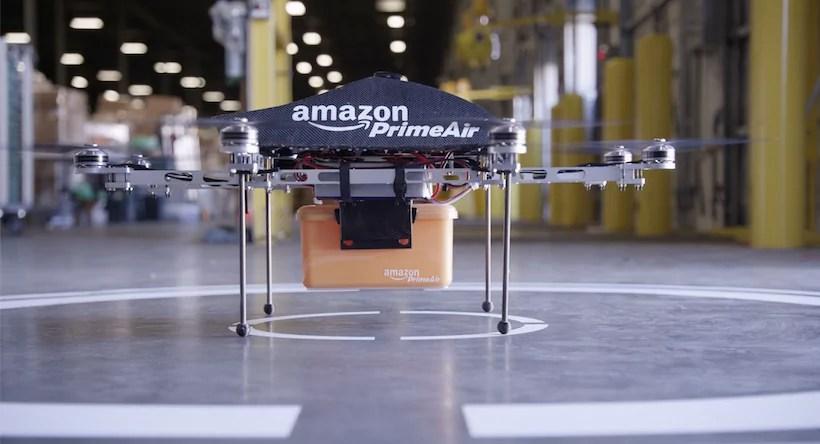Amazon Prime Air è attualmente in fase di sperimentazione