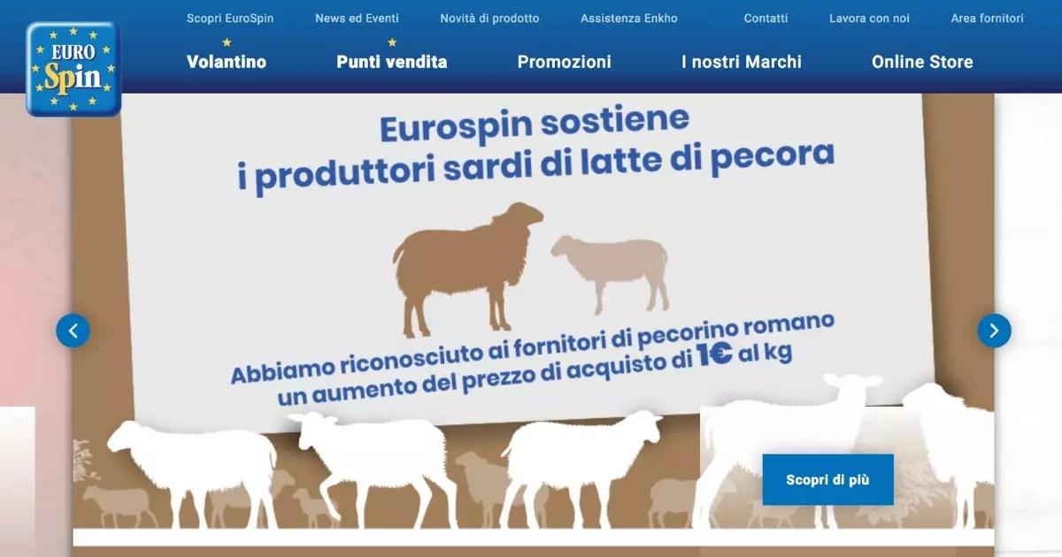Eurospin aste pecorino