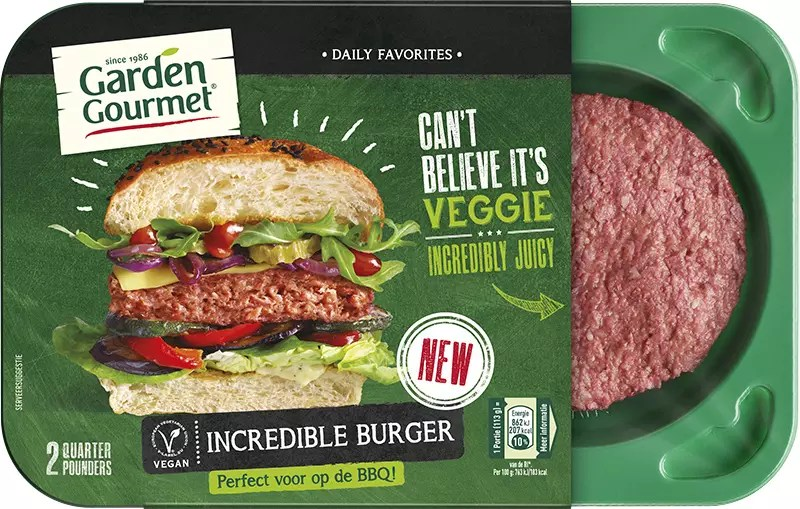 Nestlè Incredible Burger veggie