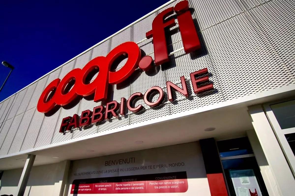 Unicoop -Coop.Fi-Fabbricone-Prato-insegna