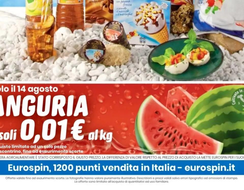 Eurospin-anguria-1-centesimo-Ferragosto-2020