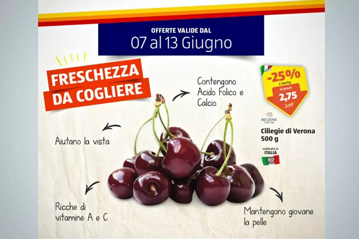Aldi-ciliegie-Verona-offerta-giugno-2021