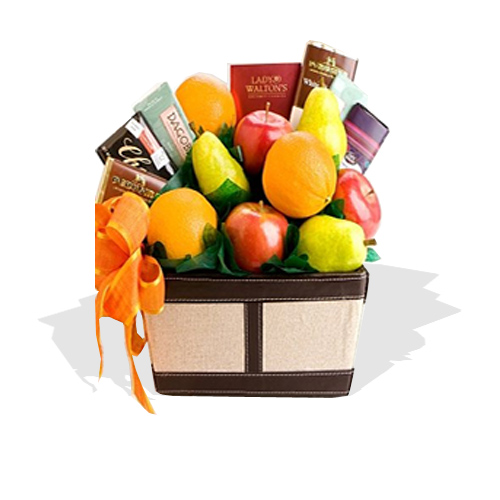 Fruit Amp Chocolate Gifts Hamper FG17 Fruit Galore Ltd