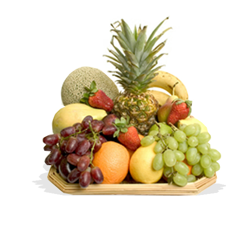 Tropical Fruit Basket FG12 Fruit Galore Ltd