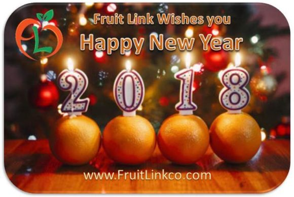 happy new year 2018 from all of us at fruit link