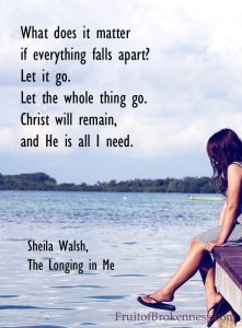 The Longing in Me: How Everything You Crave Leads to the Heart of God, Sheila Walsh