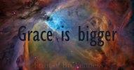Hypomania... Grace is bigger
