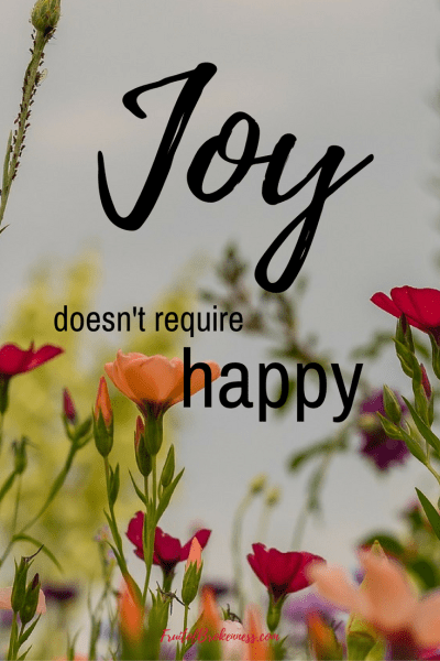 Although I knew joy doesn't require happy, I'd never thought of it this way: Joy is REALITY... An unexpected lesson from C.S. Lewis' The Great Divorce