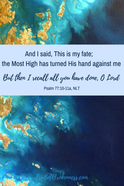 Do you think people in Biblical times didn't suffer depression? Do you believe those who faithfully love God never fall into the pit of depression? Read the psalms...