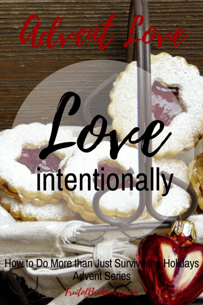 How can we do more than just survive the holidays with depression? Love intentionally.